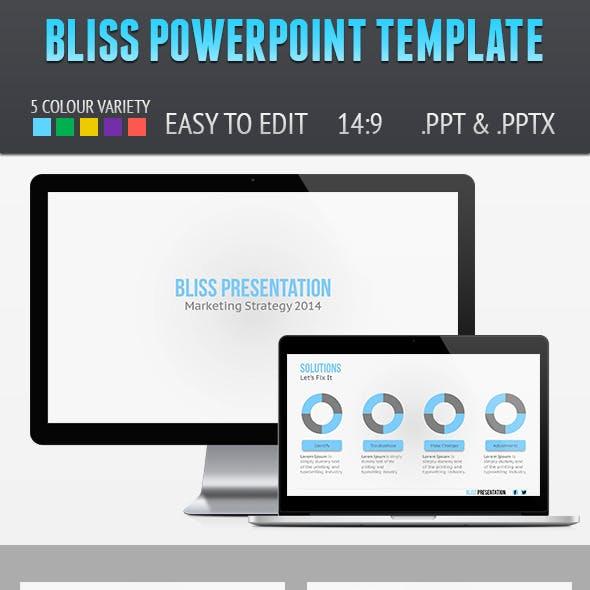 Bliss Presentation Template