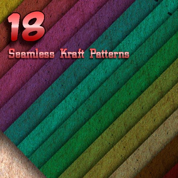 18 Seamless Kraft Patterns