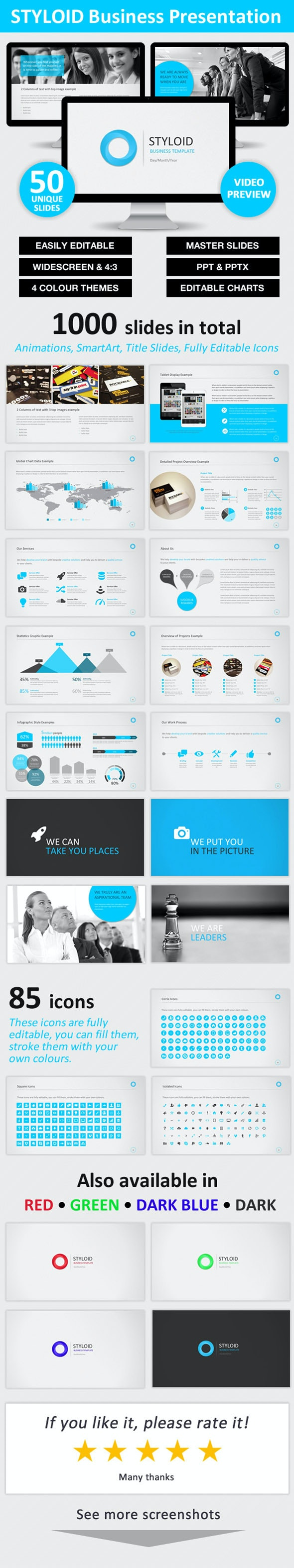 STYLOID Business PowerPoint Template - Business PowerPoint Templates