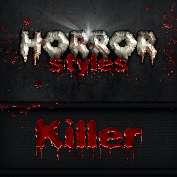 6 Horror Styles