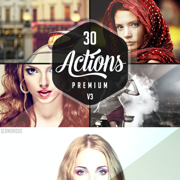 30 Premium Photoshop Actions 3