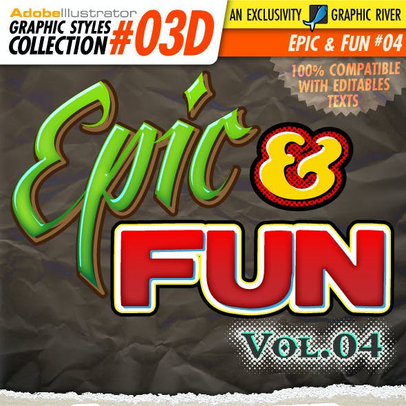 AI Styles Collection #03D: Epic & Fun #04