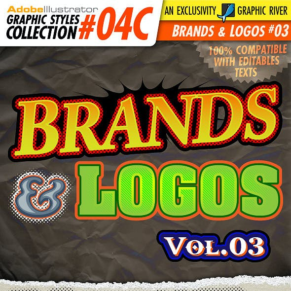 AI Styles Collection #04C: Brands & Logos #03