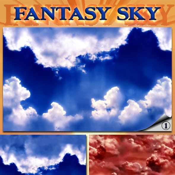 Fantasy Cloudy Sky