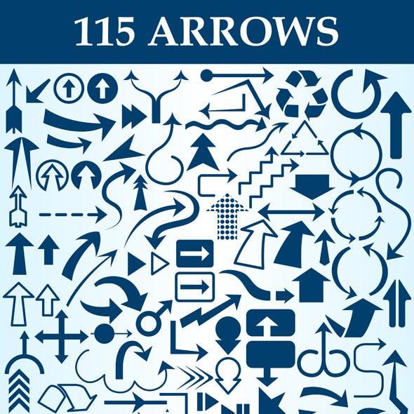 Arrows Custom Shapes