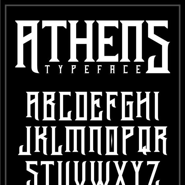 Athens Typeface