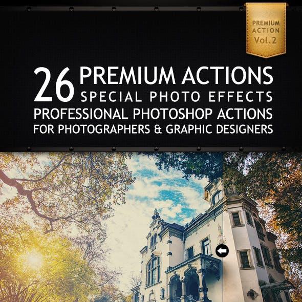26 Premium Actions