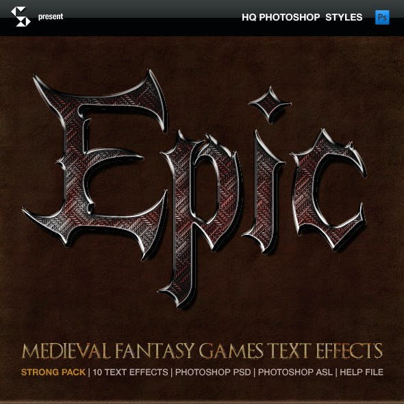 Fantasy Styles - Epic Medieval