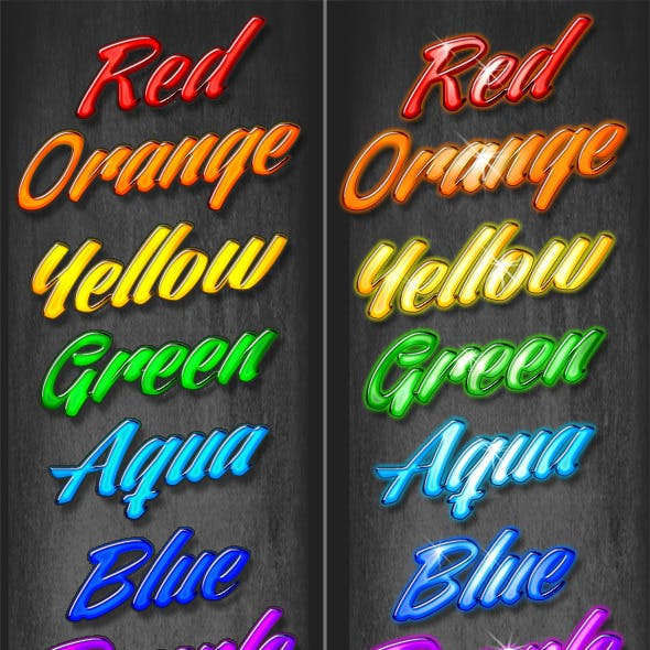 24 Colorful Beveled Styles