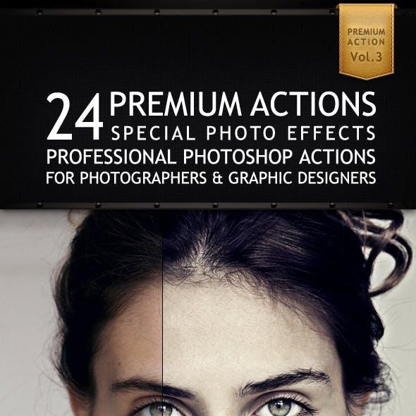 24 Premium Actions