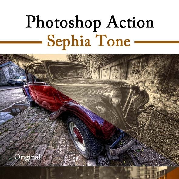 Sephia Tone Photo Effect