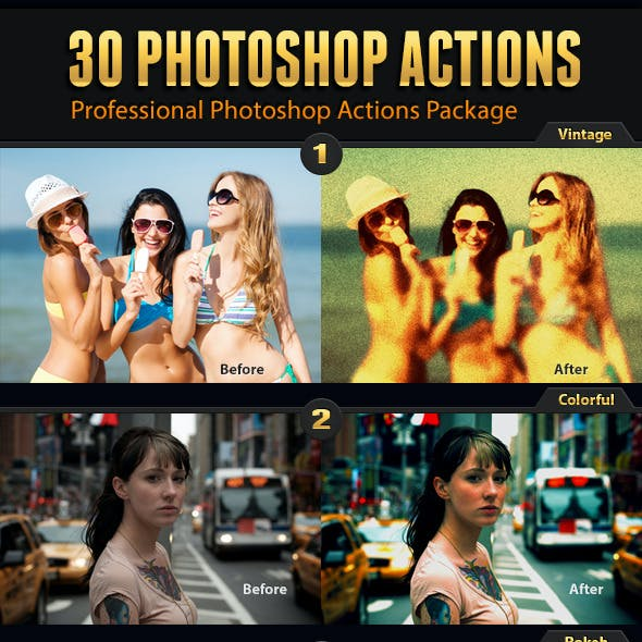 30 Photo Effects