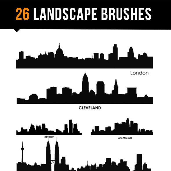 26 Landscape Brushes