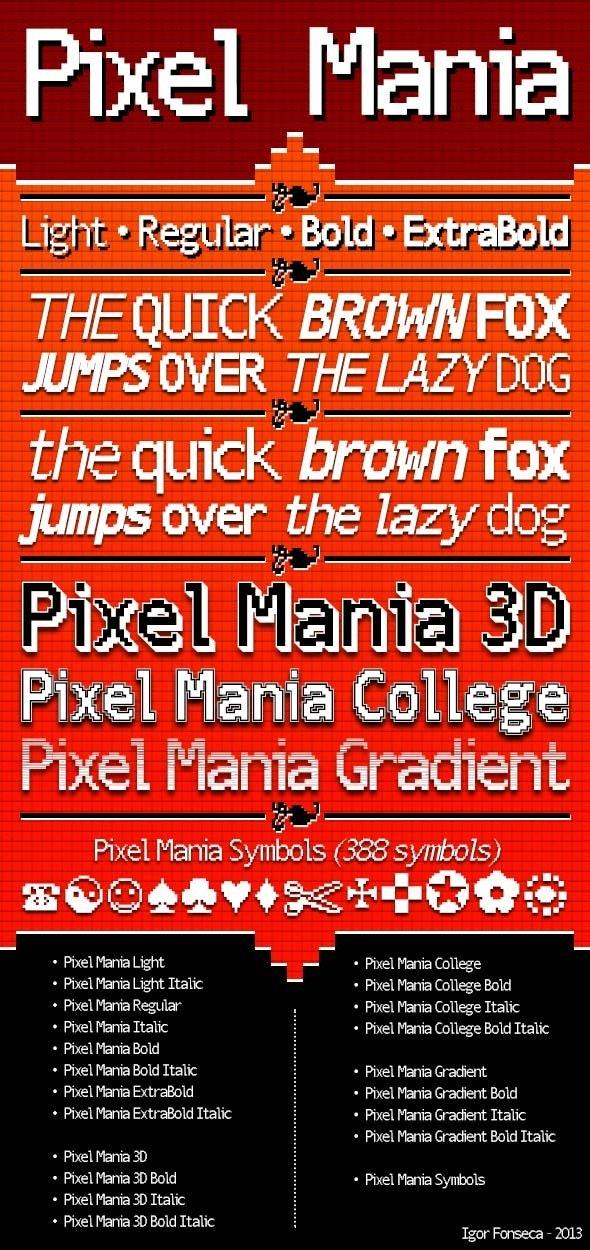 Pixel Mania