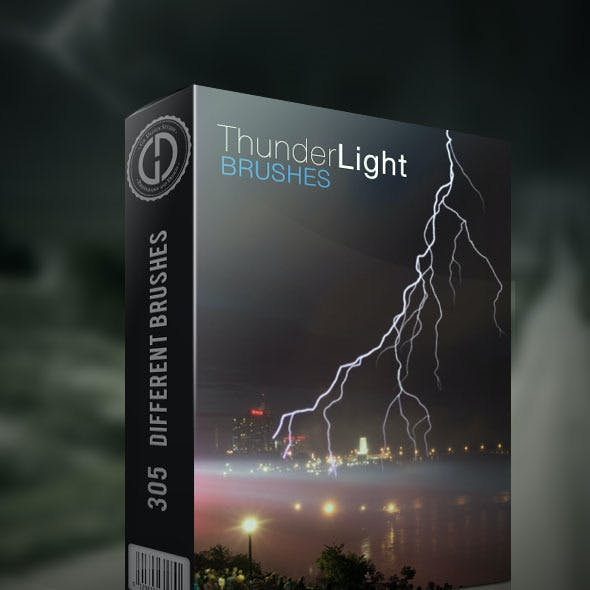 Thunder Lightning Brushes