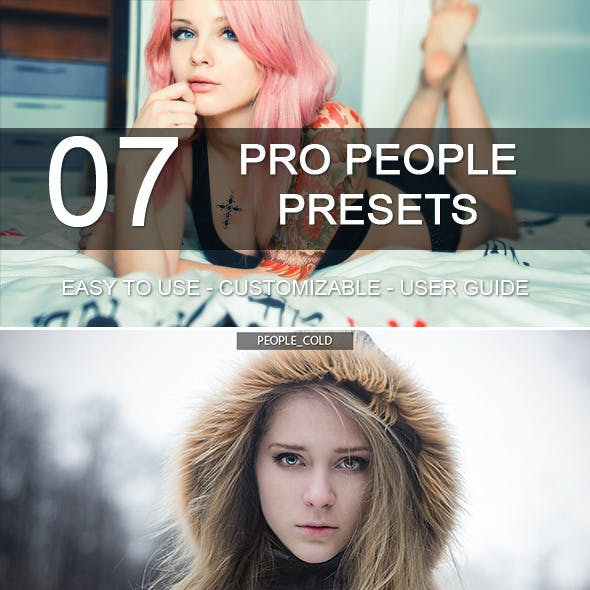 7 Pro People Presets