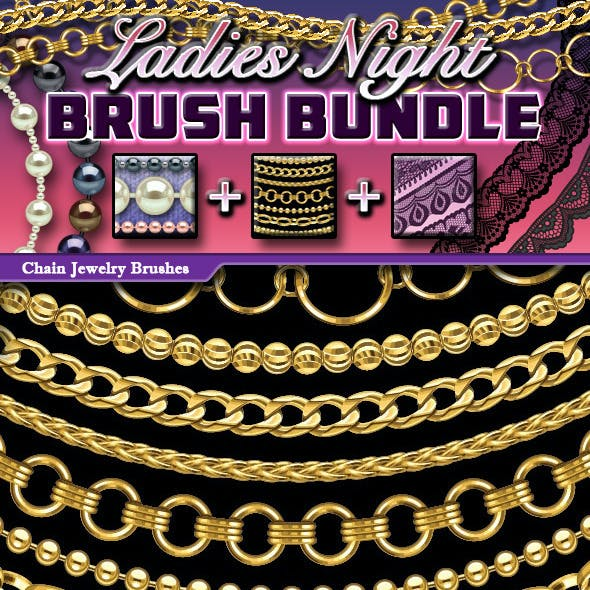 Ladies Night Brush Bundle