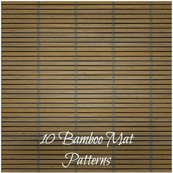 10 Bamboo Mat Patterns