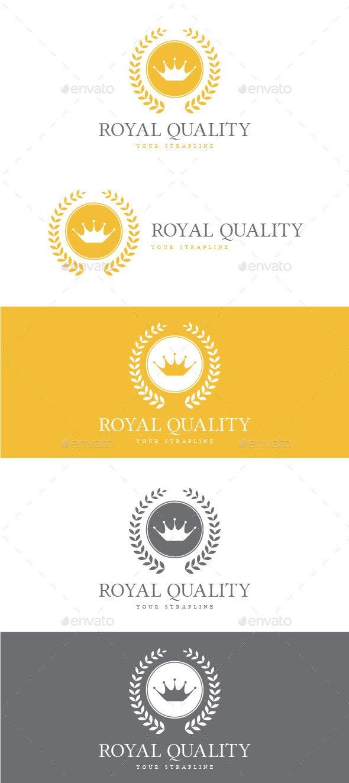 Royal Quality Logo - Crests Logo Templates