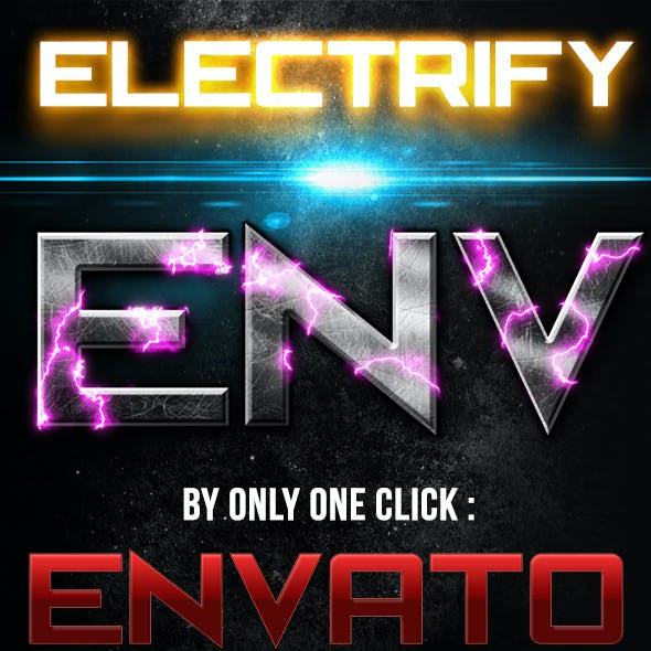 Electrify Effect Photoshop Action