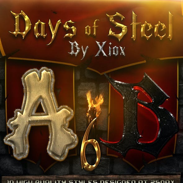 Days of Steel -Style Pack 6-