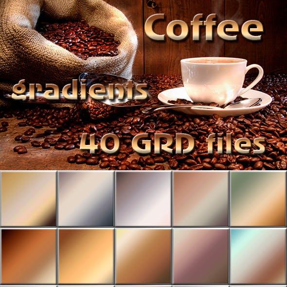 40 Coffee Gradients