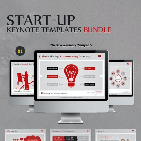 Start-up Keynote Templates Bundle