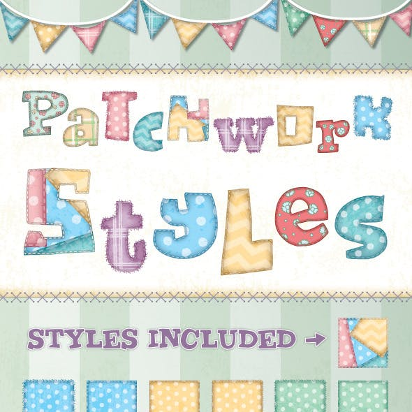 Patchwork Text Styles
