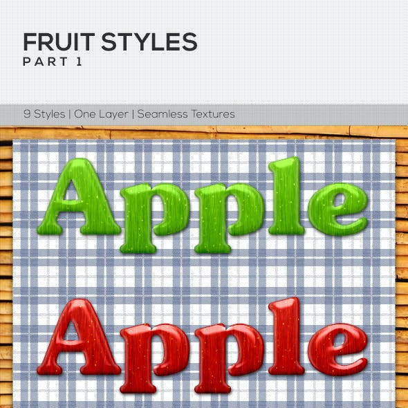 Fruit Styles Part1