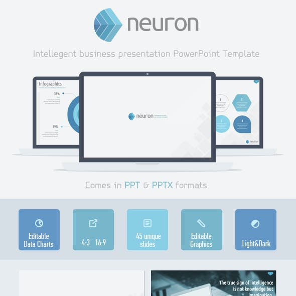 Neuron Powerpoint Presentation Template