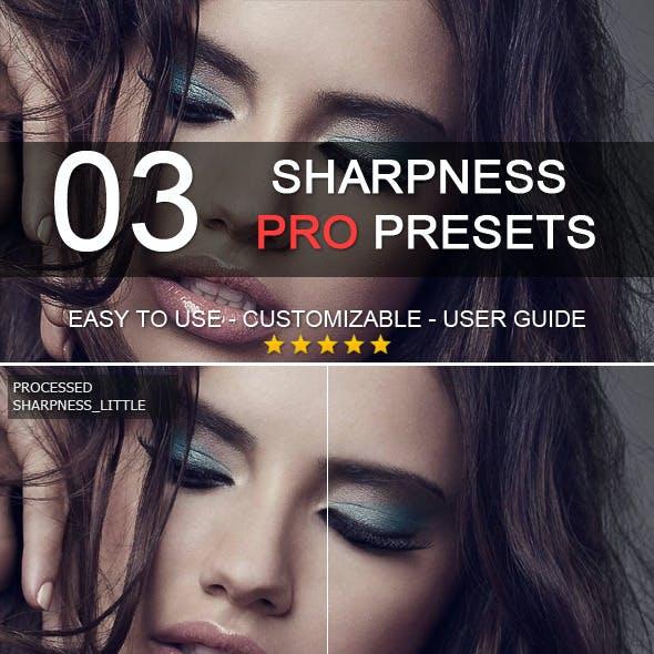 3 Pro Sharpness Presets