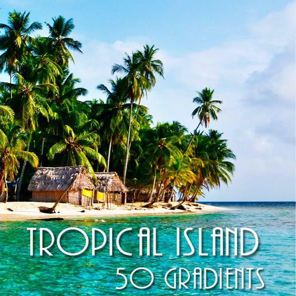 Tropical Island Gradients