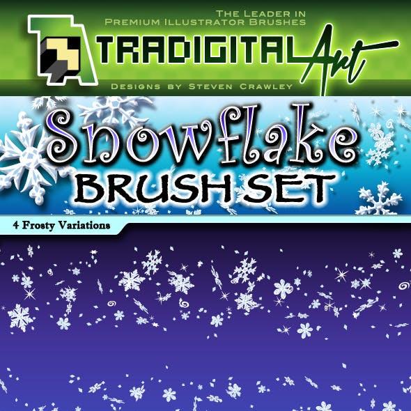 Snowflake Brush Set