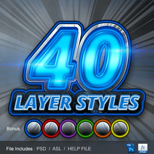 40 Layer Styles