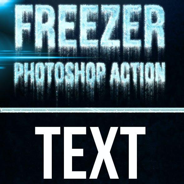 Freezer Photoshop Effect