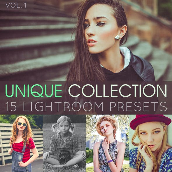 15 Unique Lightroom Presets Vol. 1