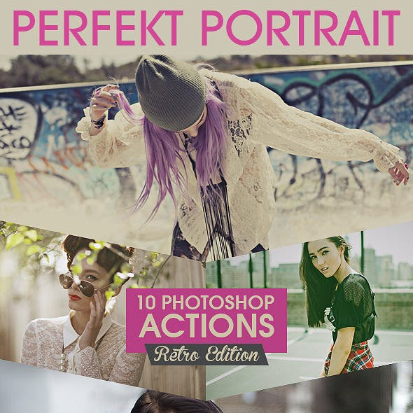 10 Professional Portrait Actions