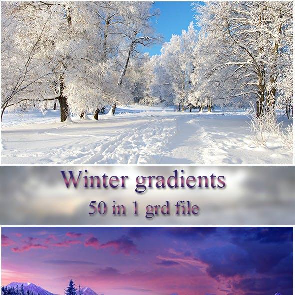 Winter Gradients