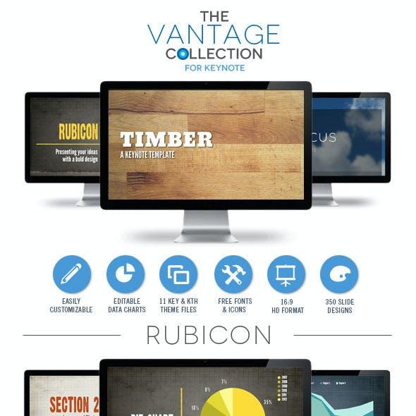 Vantage Collection Keynote Template Bundle