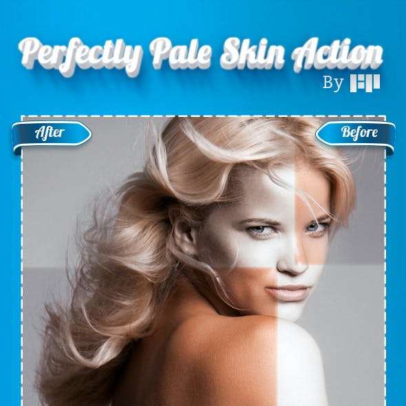 Perfectly Pale Skin Action