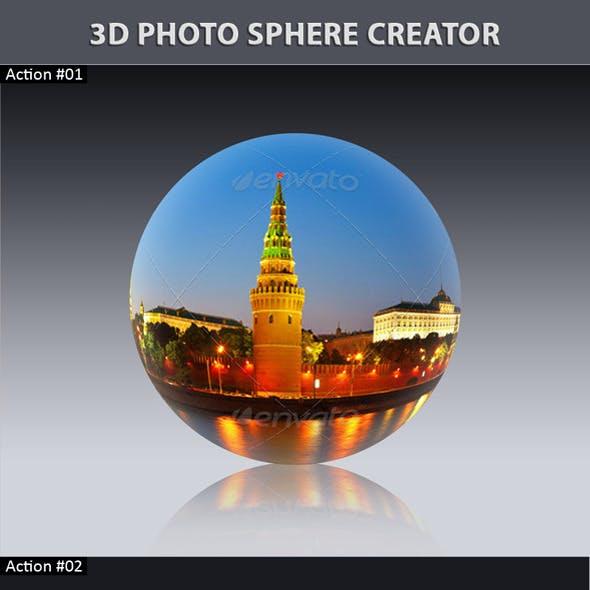 3D Photo Sphere Creator