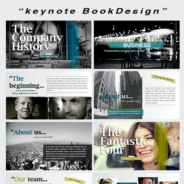 Keynote BookDesign