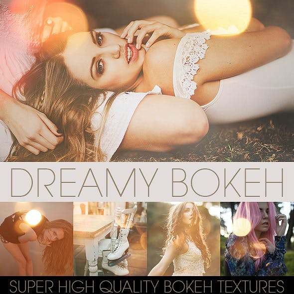 Bokeh Textures and Actions Vol.1