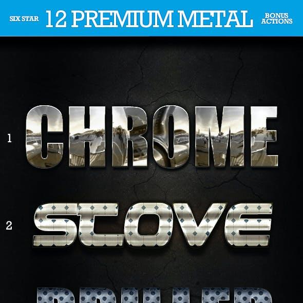 12 Premium Metal Styles