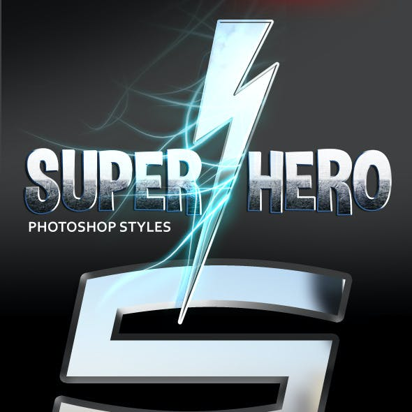 Super Heroes Photoshop Styles