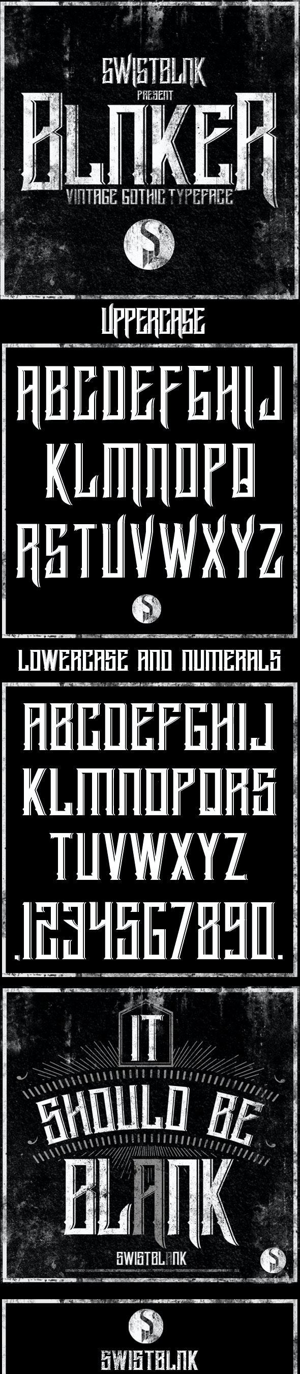 Blnker - Fonts