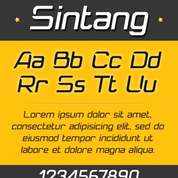 Sintang Font