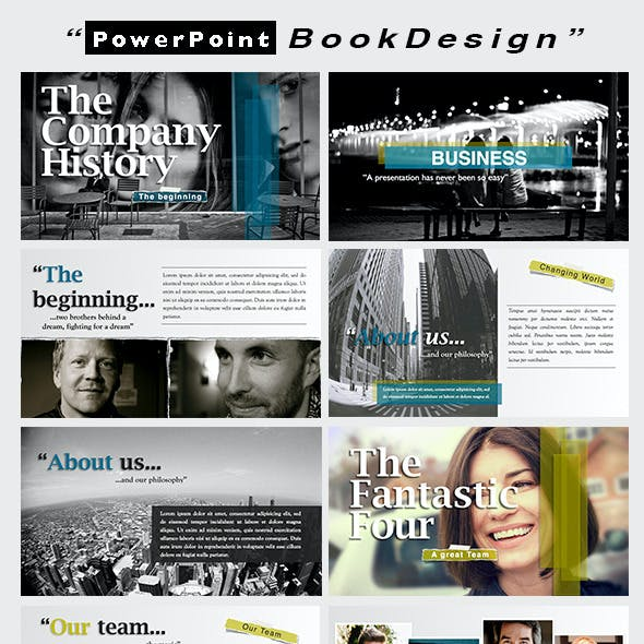 Powerpoint BookDesign