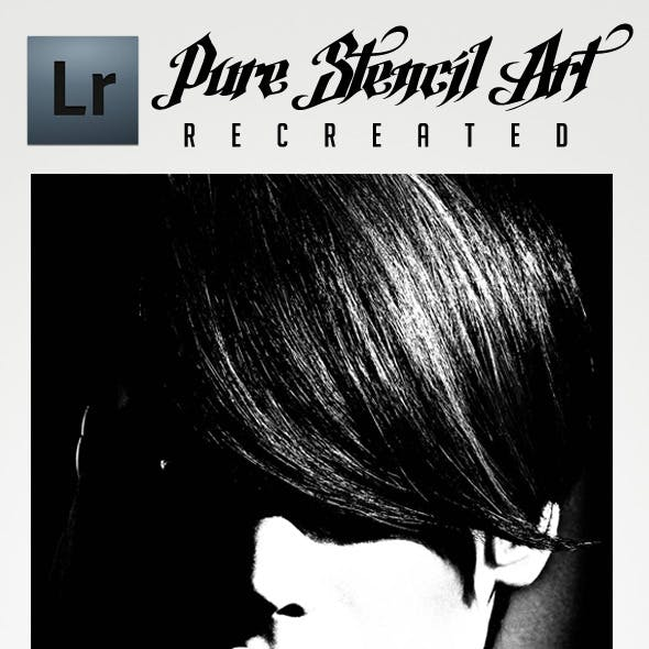 Pure Stencil Art Lightroom Preset (Recreated)