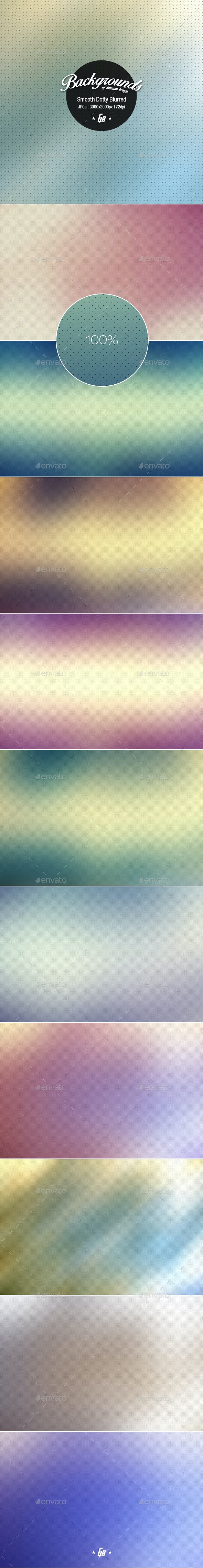 Smooth Dotty Blurred Backgrounds - Miscellaneous Backgrounds